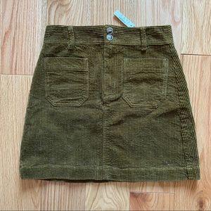 Madewell Corduroy Skirt